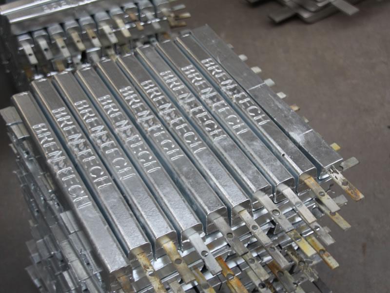 Aluminum Anode China Aluminum Sacrificial Anode Manufacturer