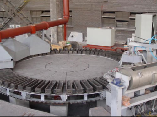 Casting Wheel Casting Machine China Hydrometallurgical