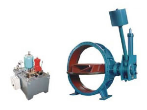 Hydraulic Control Butterfly Valve for Pumping Station-1